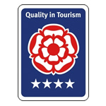 Quality in Tourism Award Rose Holiday Park 4 Star