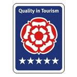 Quality in Tourism Award Rose Holiday Park 5 Star