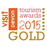 Visit Devon Tourism Gold 2015