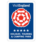 Visit England 5 star Holiday Touring Camping