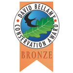 bronze David Bellamy Conservation Award