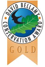 David Bellamy Conservation Awards. Gold Award.