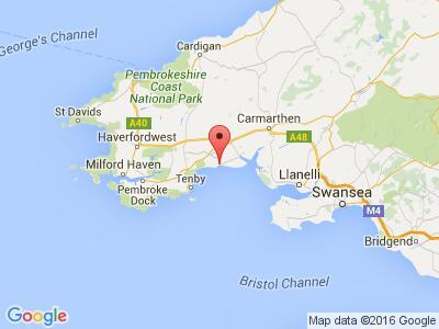 Pendine Sands Map Pendine Sands Holiday Park, Carmarthenshire | UK Parks Pendine Sands Map